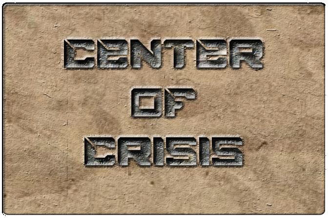 Center of Crisis Emblem (Text 2.0)